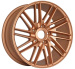 Alloy Wheels Bronze finish 18 Inch in staggered