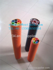 HDPE silicon core duct for freeway