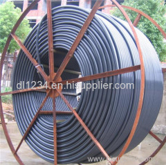 Hdpe water pipe hdpe silicon core pipe