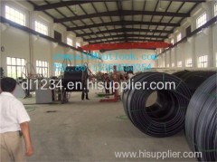 HDPE cable trunking with optical fiber duct