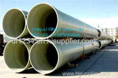 FRP sand filling water pipe
