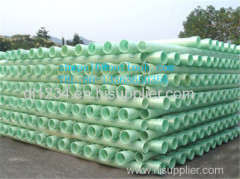 FRP PIPES winding FRP pipe with sand filler
