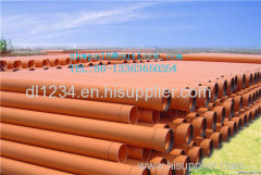 MPP pipe for cable protection