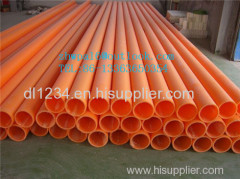 Singal wall MPP pipe Flexible MPP pipe