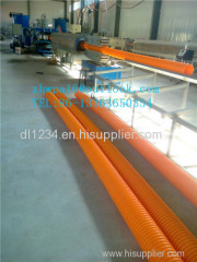 Plastic corrugated conduit MPP Pipe for electrical