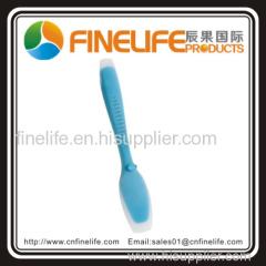 silicone blue spoon spatula