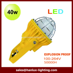 pendant 40W LED explosion proof light