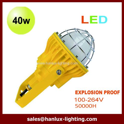 pendant 40W LED explosion proof light