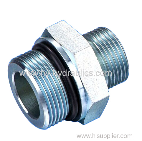BSP male double use for 60° cone seat or bonded seal/ NPT male Adapters