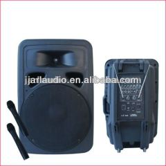 active molded speaker with wireless Microphone