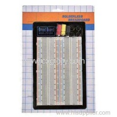 The best quality 1660 Point Solderless Breadboard for testing