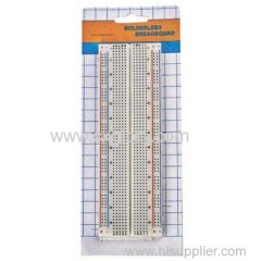 The good quality 830 Point Solderless Breadboard