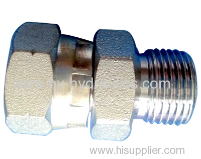 BSP male double use for 60° cone seat or bonded seal/ BSP female 60° cone Fittings
