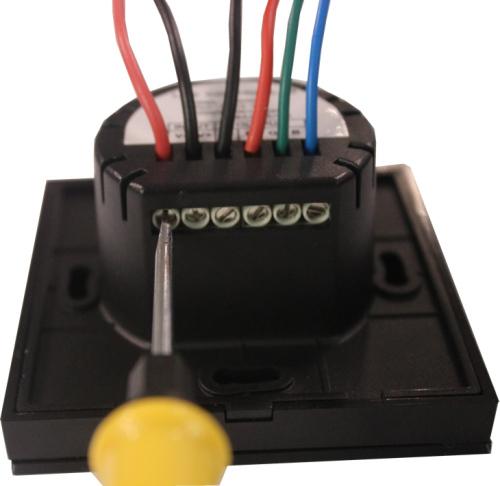 EU standard RGB Touch LED controller for 12V 24V RGB LED lights