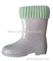 Kids Fashionable PVC Boots For Winter