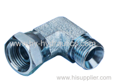 90° elbow BSP male 60 ° seat/ BSP female 60° cone Adapters 2B9