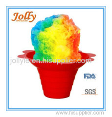 disposable colorful flower cup
