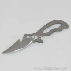 stainless knife for underwater sport/diving knife