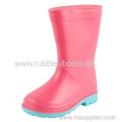 PVC Injection Boots For Girls