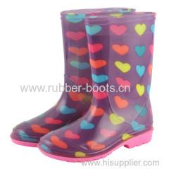 Girys Fashion Rain Boots
