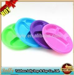 three division disposable plates