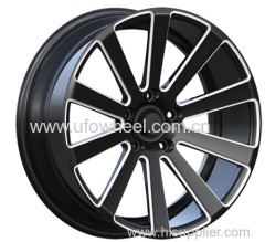 Alloy Wheels black with white window