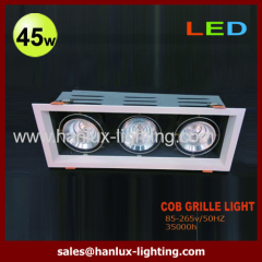 45W 3200lm LED grille light