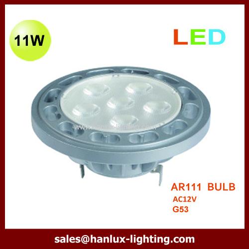 11W LED AR111 bulbs