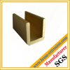 brass hardware extrusion profile section
