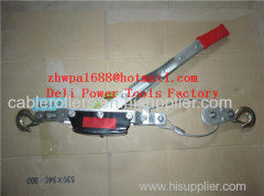 Cable Puller Hand Come Along Dual Drive Ratchet Cable Puller