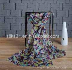 Custom Printing Linen Scarf