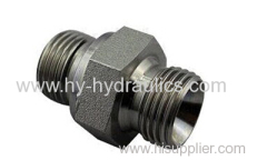 BSP male 60° seat/ BSP female pressure gauge connectors 2B-G