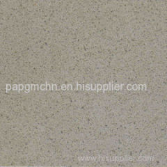 Solid Surface Grey Engineered Quartz Stone Flooring Tiles for kitchen