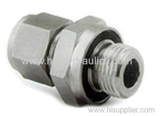 BSP male double use for 60° cone seat or bonded seal/ JIC female 74° seat Adapters 2BJ