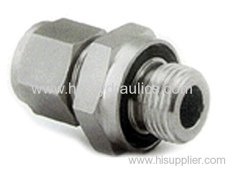 BSP male double use for 60° cone seat or bonded seal/ JIC female 74° seat Adapters