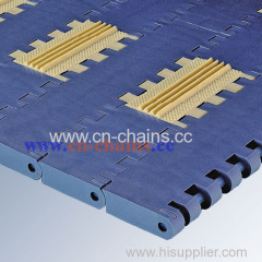 E50 friction modular conveyor belt can be used in packing industry