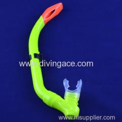 Green dry snorkel/scuba snorkel/diving snorkel