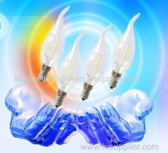 LED Filament Candle Lamps