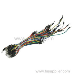 Solderless Breadboard Jump Wires Qty 65 /75Strips
