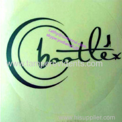 customize logo sticker labels