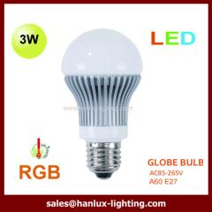 3W LED globe bulbs