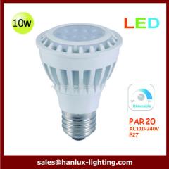 10W LED Dimmable Par20 bulb