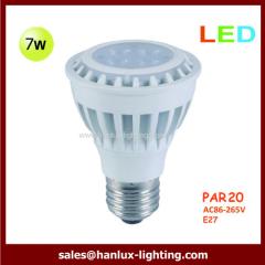 7W LED par20 bulb