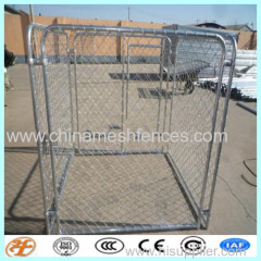 commerical chain link mesh dog kennels for sale