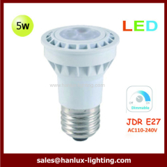 JDR E27 dimmable LED bulbs