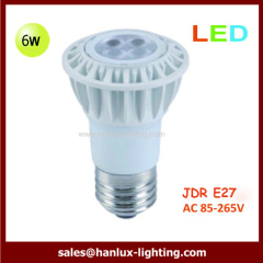 LED JDR bulbs 6W