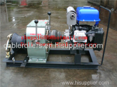 Cable bollard winch Cable Drum Winch Cable pulling winch