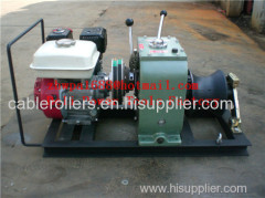 CABLE LAYING MACHINES Cable bollard winch