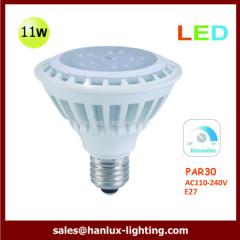 11W LED par30 dimmable bulb