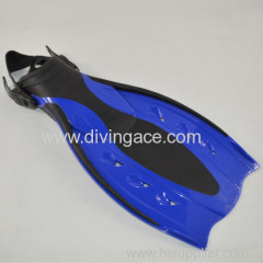 Adjustable silicone diving fins for water sports